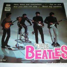 Discos de vinilo: THE BEATLES - HERE THERE AND EVERYWHERE + 3 - EP 1966. Lote 131504982