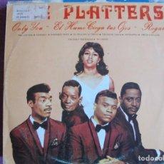Discos de vinilo: LP - THE PLATTERS - EXITOS (SPAIN, DISCOS PALOBAL 1981). Lote 131514418