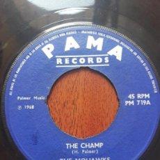 Discos de vinilo: THE MOHAWKS- THE CHAMP/SOUND LE THE WITCH DOCTORS- SINGLE PAMA ORIGINAL1968. Lote 131520226