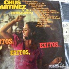 Discos de vinilo: CHUS MARTINEZ Y SU CONJUNTO -LP 1967 -FIRMADO Y DEDICADO. Lote 131545830
