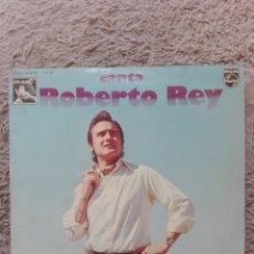 Discos de vinilo: CANTA ROBERTO REY. Lote 131570074