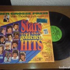 Discos de vinilo: LP - VARIOS - DER GROSSE PREIS - WIM THOELKE PRÄSENTIERT: STARS UND IHRE GOLDENEN HITS - NEU 77. Lote 131570958