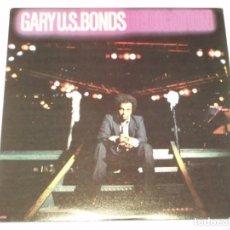 Discos de vinilo: GARY U.S. BONDS ( DEDICATION ) CANADA - 1981 PRODUCED BRUCE SPRINGSTEIN LP33 EMI AMERICA. Lote 131579122