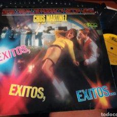 Discos de vinilo: CHUS MARTINEZ LP EXITOS,EXITOS,EXITOS... 1967. Lote 131587946