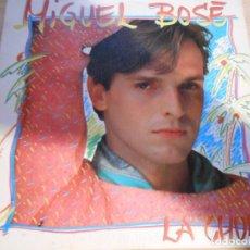 Discos de vinilo: MIGUEL BOSE, SG, LA CHULA + 1, AÑO 1983. Lote 131588918
