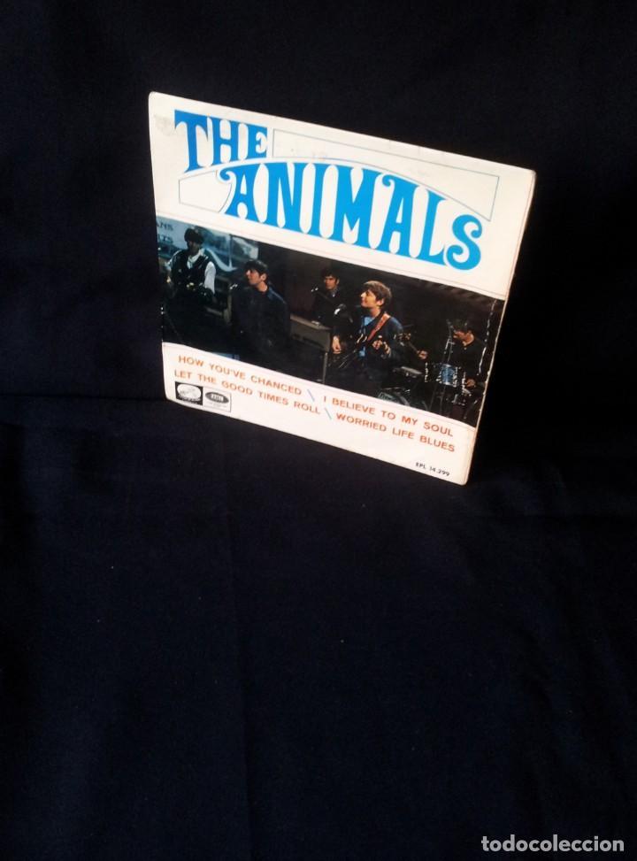 THE ANIMALS - HOW YOU'VE CHANGED, I BELIEVE TO MY SOUL, LET THE GOOD TIMES ROLL, WORRIED LIFE BLUES (Música - Discos de Vinilo - EPs - Pop - Rock Internacional de los 50 y 60)