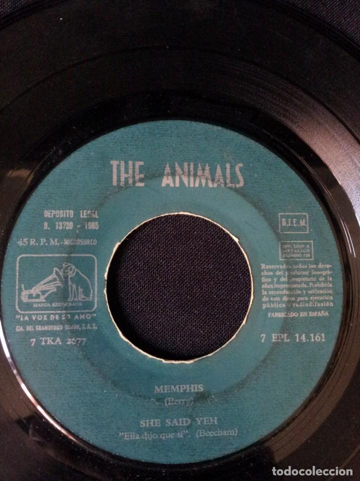 Discos de vinilo: THE ANIMALS - HOW YOUVE CHANGED, I BELIEVE TO MY SOUL, LET THE GOOD TIMES ROLL, WORRIED LIFE BLUES - Foto 4 - 131589550