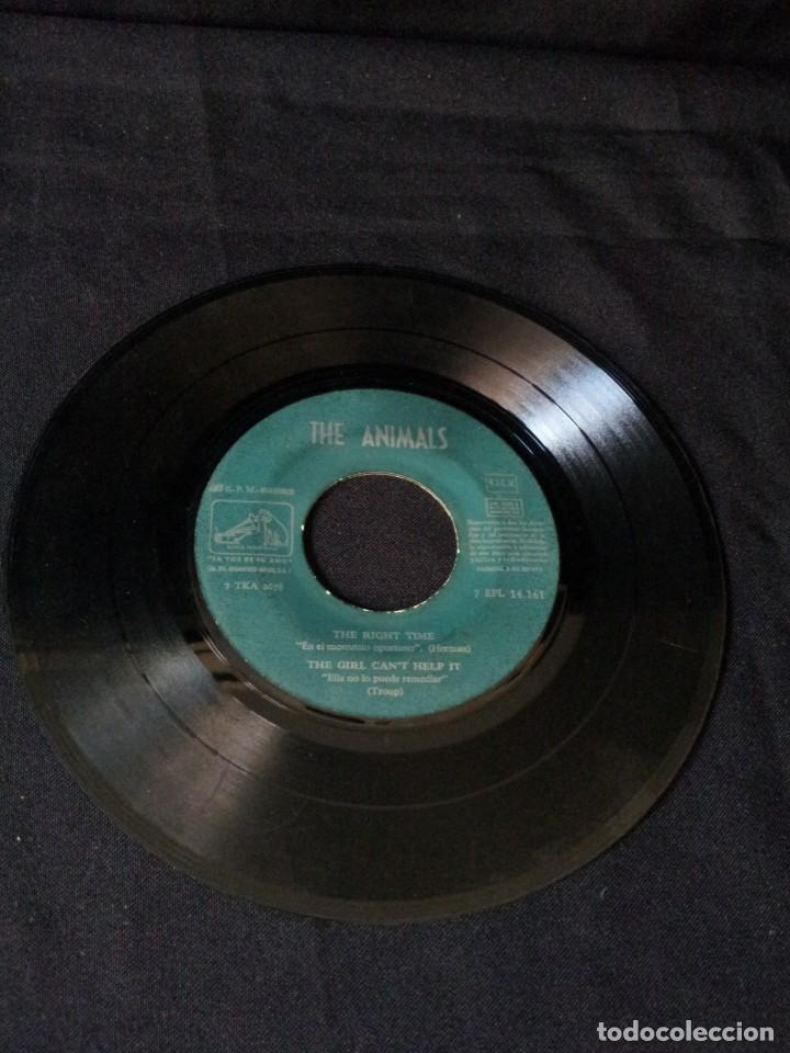 Discos de vinilo: THE ANIMALS - HOW YOUVE CHANGED, I BELIEVE TO MY SOUL, LET THE GOOD TIMES ROLL, WORRIED LIFE BLUES - Foto 5 - 131589550