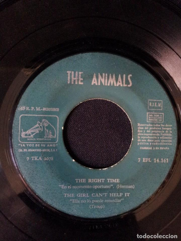Discos de vinilo: THE ANIMALS - HOW YOUVE CHANGED, I BELIEVE TO MY SOUL, LET THE GOOD TIMES ROLL, WORRIED LIFE BLUES - Foto 6 - 131589550