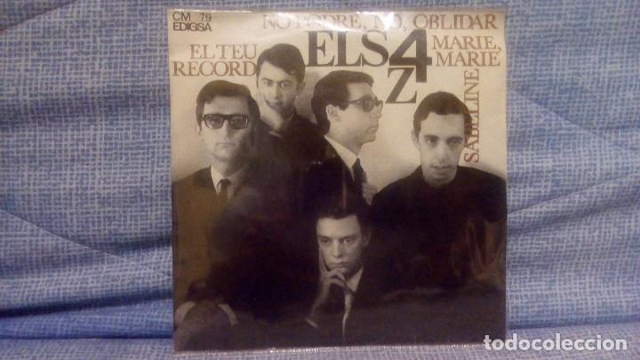 ELS 4 Z - EL TEU RECORD + 3 - SELLO EDIGSA C.M. 79 DEL AÑO 1965 (CANTADO EN CATALAN) COMO NUEVO (Música - Discos de Vinilo - EPs - Grupos Españoles 50 y 60)