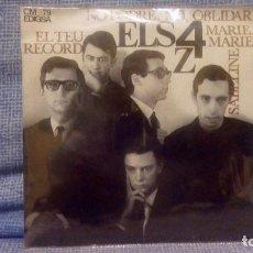 Discos de vinilo: ELS 4 Z - EL TEU RECORD + 3 - SELLO EDIGSA C.M. 79 DEL AÑO 1965 (CANTADO EN CATALAN) COMO NUEVO. Lote 131589562