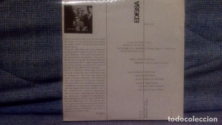 Discos de vinilo: ELS 4 Z - EL TEU RECORD + 3 - SELLO EDIGSA C.M. 79 DEL AÑO 1965 (CANTADO EN CATALAN) COMO NUEVO - Foto 2 - 131589562