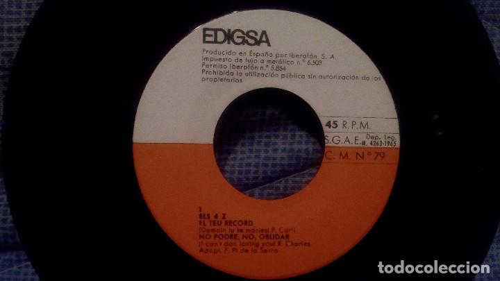 Discos de vinilo: ELS 4 Z - EL TEU RECORD + 3 - SELLO EDIGSA C.M. 79 DEL AÑO 1965 (CANTADO EN CATALAN) COMO NUEVO - Foto 3 - 131589562