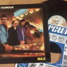 Discos de vinilo: RUMOUR `MAX` 1977 USA. . Lote 131593822