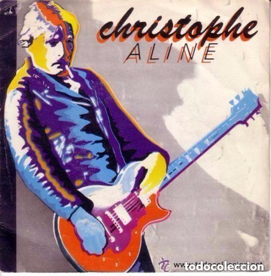 CHRISTOPHE - ALINE - SINGLE SPAIN 1979 (Música - Discos - Singles Vinilo - Canción Francesa e Italiana)