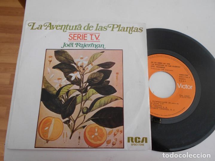 JOËL FAJERMAN-SINGLE LA AVENTURA DE LAS PLANTAS-SERIE T.V. (Música - Discos - Singles Vinilo - Bandas Sonoras y Actores)