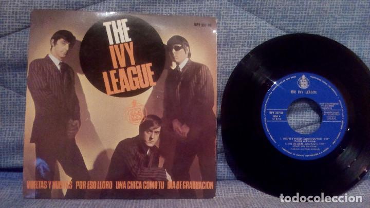 THE IVY LEAGUE - VUELTAS Y VUELTAS (TOSSING AND TURNING) + 3 EDICION ESPAÑOLA EN ESTADO COMO NUEVO (Música - Discos de Vinilo - EPs - Pop - Rock Extranjero de los 50 y 60)