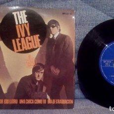 Discos de vinilo: THE IVY LEAGUE - VUELTAS Y VUELTAS (TOSSING AND TURNING) + 3 EDICION ESPAÑOLA EN ESTADO COMO NUEVO. Lote 131599458