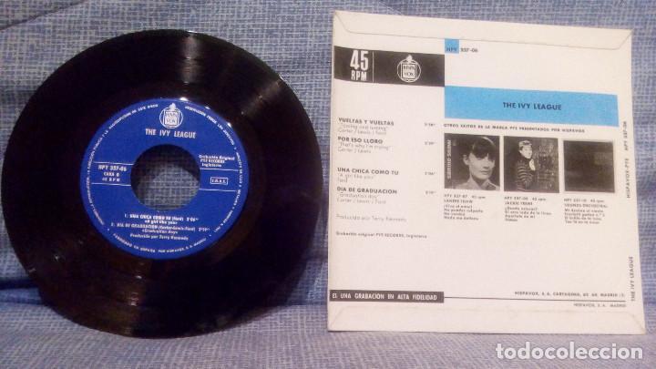 Discos de vinilo: THE IVY LEAGUE - VUELTAS Y VUELTAS (TOSSING AND TURNING) + 3 EDICION ESPAÑOLA EN ESTADO COMO NUEVO - Foto 2 - 131599458