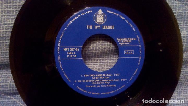 Discos de vinilo: THE IVY LEAGUE - VUELTAS Y VUELTAS (TOSSING AND TURNING) + 3 EDICION ESPAÑOLA EN ESTADO COMO NUEVO - Foto 4 - 131599458