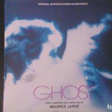 Discos de vinilo: MAURICE JARRE - GHOST. Lote 131599990