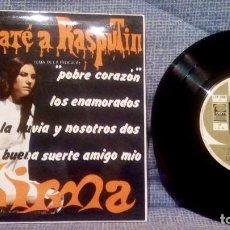 Discos de vinilo: THIRMA - TEMAS DE LA PELICULA ''YO MATÉ A RASPUTIN'' - POBRE CORAZON + 3 EP PROMO ED. ESPAÑOLA 1967. Lote 131599998