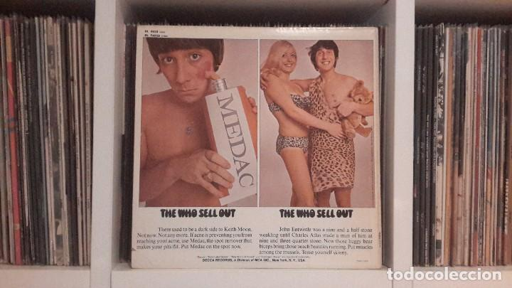 Discos de vinilo: WHO - SELL OUT - ORIGINAL USA - Foto 2 - 131612674