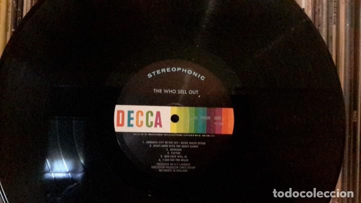 Discos de vinilo: WHO - SELL OUT - ORIGINAL USA - Foto 3 - 131612674