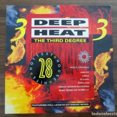 Discos de vinilo: DOBLE LP - DEEP HEAT - THE THIRD DEGREE - 1989. Lote 131613066