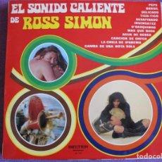 Discos de vinilo: LP - ROSS SIMON - EL SONIDO CALEINTE DE ROSS SIMON (SPAIN, BELTER 1973). Lote 131614290