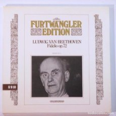 Discos de vinilo: FURTWANGLER EDITION BEETHOVEN FIDELIO (1953) - FONIT CETRA FE 8/9/10. 3 LP VINILO. . Lote 131619358