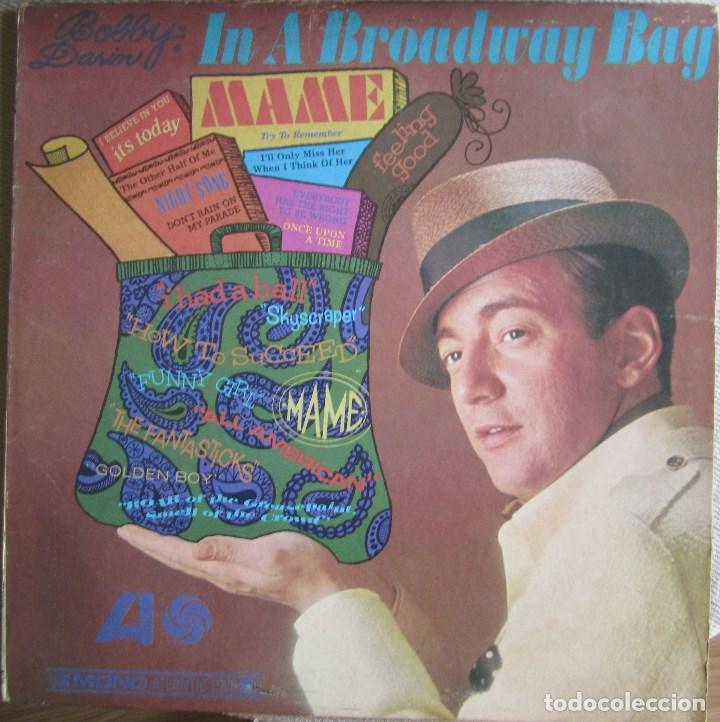 Usado, BOBBY DARIN: IN A BROADWAY BAG. CLÁSICO INTÉRPRETE POP U.S.A. segunda mano