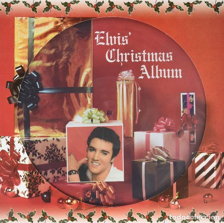 ELVIS PRESLEY * LP 180G PICTURE DISC * ELVIS' CHRISTMAS ALBUM * MONO!!! * NUEVO (Música - Discos - LP Vinilo - Rock & Roll)