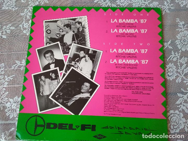 Discos de vinilo: RITCHIE VALENS LA BAMBA TWINS ED ESPAÑOLA 1987 - Foto 2 - 131637242