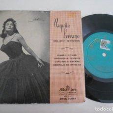 Discos de vinilo: PAQUITA SERRANO-EP DIMELO GITANO +3. Lote 131638806