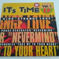 Discos de vinilo: IT'S TIME EP VOL.1 (E.P.). Lote 131643813