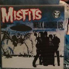 Discos de vinilo: MISFITS: WALK AMONG US LP 12 COLOR AZUL. Lote 131663270
