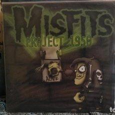 Discos de vinilo: MISFITS: PROJECT 1950 LP 12. Lote 137725766