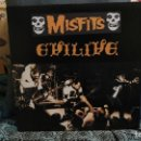 Discos de vinilo: MISFITS: EVILIVE LP 12. Lote 131663474