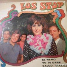 Discos de vinilo: LOS STOP - EL REMO- YO TE DARE - SALUD DINERO Y AMOR - CANCION DE LA ESPERANZA. Lote 131665014