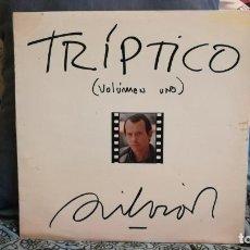 Discos de vinilo: SILVIO RODRIGUEZ: TRIPTICO VOLUMEN 1 LP12. Lote 131665454