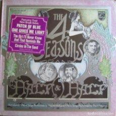 Disques de vinyle: FOUR SEASONS, THE: FRANKIE VALLI & THE 4 SEASONS: HALF & HALF. EL GRAN GRUPO VOCAL U.S.A.. Lote 131674302