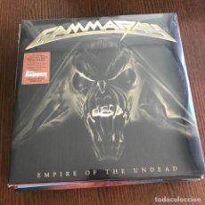 Discos de vinilo: GAMMA RAY - EMPIRE OF THE UNDEAD - LP DOBLE EAR MUSIC 2014 NUEVO. Lote 131690594