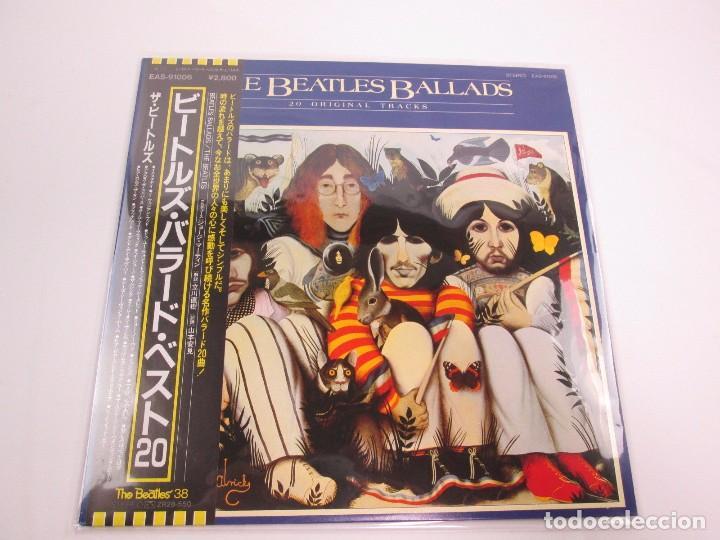 VINILO EDICIÓN JAPONESA DE THE BEATLES - BEATLES BALLADS (Música - Discos - LP Vinilo - Pop - Rock Extranjero de los 50 y 60)