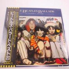 Discos de vinilo: VINILO EDICIÓN JAPONESA DE THE BEATLES - BEATLES BALLADS. Lote 131706018