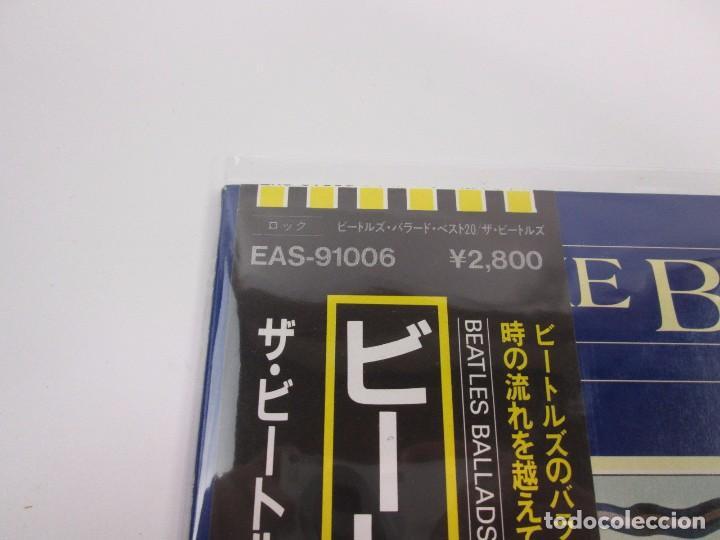 Discos de vinilo: VINILO EDICIÓN JAPONESA DE THE BEATLES - BEATLES BALLADS - Foto 2 - 131706018