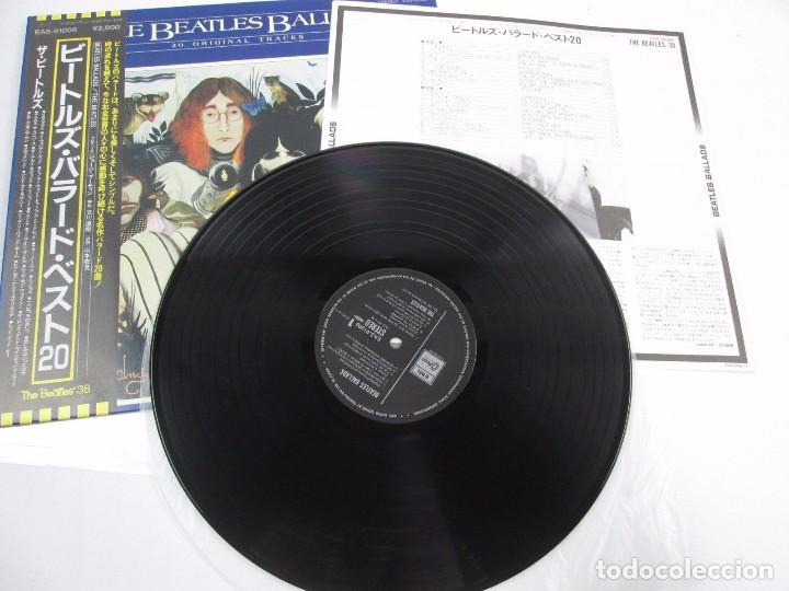 Discos de vinilo: VINILO EDICIÓN JAPONESA DE THE BEATLES - BEATLES BALLADS - Foto 4 - 131706018