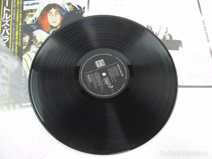 Discos de vinilo: VINILO EDICIÓN JAPONESA DE THE BEATLES - BEATLES BALLADS - Foto 5 - 131706018
