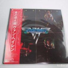 Discos de vinilo: VINILO EDICIÓN JAPONESA DEL LP DE VAN HALEN VAN HALEN. Lote 131706438