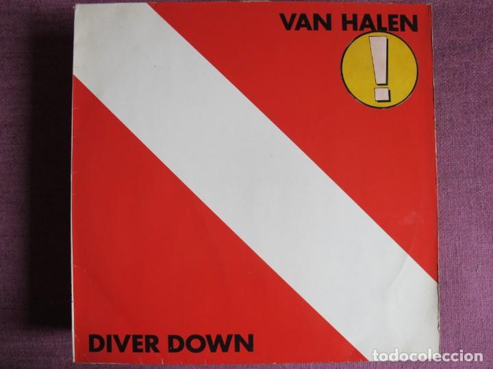 LP - VAN HALEN - DIVER DOWN (GERMANY, WB RECORDS 1982) (Música - Discos - LP Vinilo - Heavy - Metal)